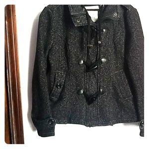 "🎄CHRISTMAS  SALE 🎄 ""Black Jacket Pea coat """